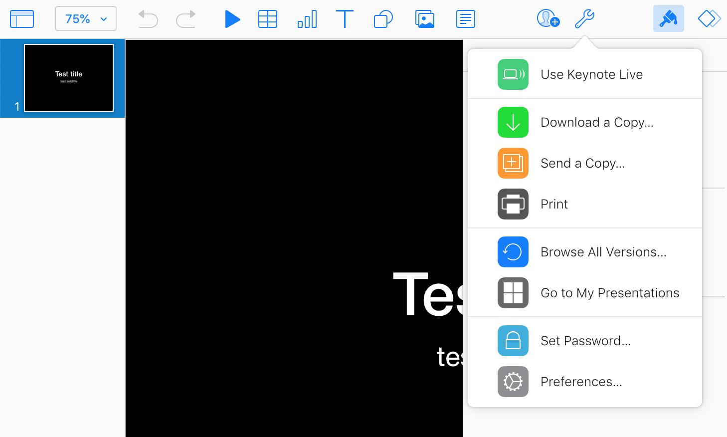 Apple Keynote Files
